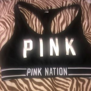 Used Pink by Victoria secrets no padded sport bra